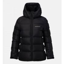 Peak Performance Women's Frost Down Jacket Artwork Black