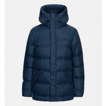 Peak Performance Frost Down Long Jacket Decent Blue