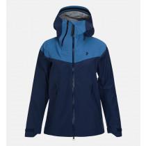 Peak Performance Women's Mondo Jacket Thermal Blue