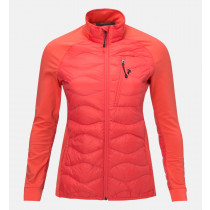 Peak Performance W Helium Hybrid Jacket Pink Flow