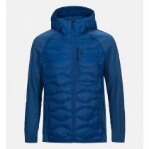 Peak Performance Helium Hybrid Hood Jacket True Blue