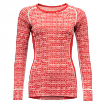 Devold Alnes Woman Shirt Chilli