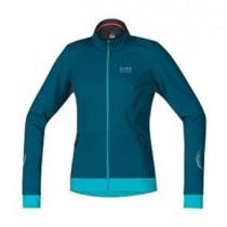 Gore Bike Wear® Element Lady Windstopper® Soft Shell Jacket Ink Blue/Scuba Blue