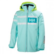 Helly Hansen Junior Salt Power Jacket Blue Tint