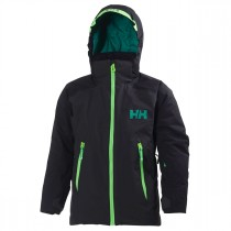 Helly Hansen Junior Stuben Jacket Ebony