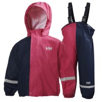 Helly Hansen Kids Voss Rainset Magenta