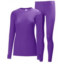 Helly Hansen Women's HH Comfort Dry 2-Pack Sunburned Purple