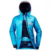 Helly Hansen Women's Powderqueen Jacket Winter Aqua