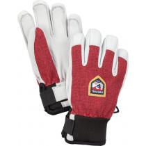 Hestra Army Leather Patrol Jr. - 5 Finger Mörkröd
