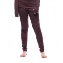 Houdini Junior's Alpha Long Johns Mulberry Red