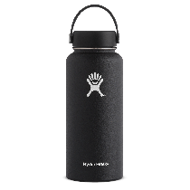 Hydro Flask Wide Mouth Black 32 oz