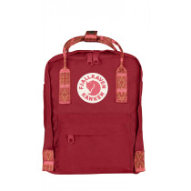 Fjällräven Kånken Mini Deep Red-Folk Pattern