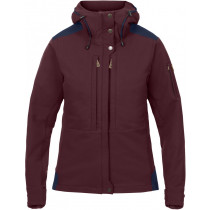 Fjällräven Keb Touring Jacket Women's Dark Garnet-Night Sky