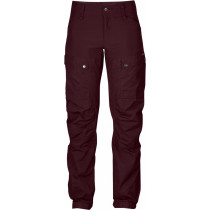 Fjällräven Keb Trousers Women's Regular Dark Garnet