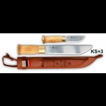 Knivsmed Strömeng Samekniv, Dubbel 8'' + 3,5''