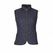 Laksen Audley Quilted Lady's Vest Navy