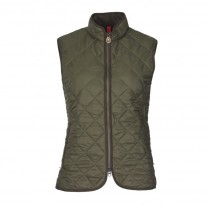 Laksen Audley Quilted Lady's Vest Olive
