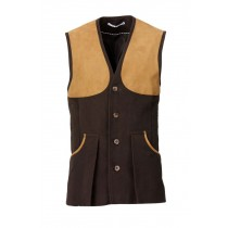 Laksen Broadlands Vest Brown