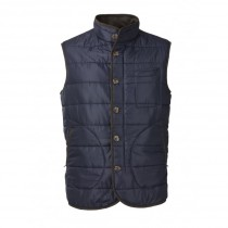 Laksen Donnington Quilted Men's Vest Navy