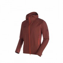 Mammut Base Jump So Hooded Jacket Men Maroon
