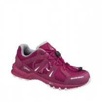 Mammut First Low Gtx® Kids Dark Magenta-White
