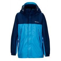 Marmot Boy's Precip Jacket Mykonos Blue/Arctic Navy