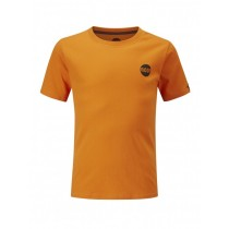 Moon Kids Crag Logo Tee Russet Orange
