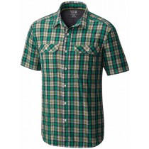 Mountain Hardwear Canyon AC Short Sleeve Shirt Plastic Fern
