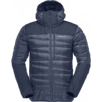 Norrøna Falketind Down750 Hood Jacket (M) Indigo Night