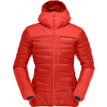 Norrøna Falketind Down750 Hood Jacket (W) Crimson Kick