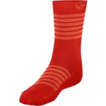 Norrøna Falketind Light Weight Merino Socks Crimson Kick