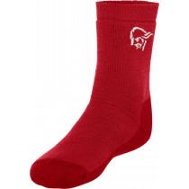Norrøna Svalbard Mid Weight Merino Socks Jester Red