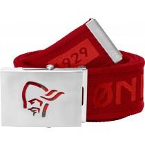 Norrøna /29 Viking Head Web Clip Belt Jester Red