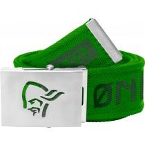 Norrøna /29 Viking Head Web Clip Belt Clean Green