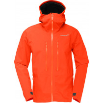 Norrøna Trollveggen Gore-Tex Light Pro Jacket (M) Burnt Orange