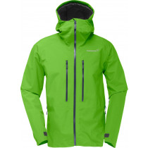 Norrøna Trollveggen Gore-Tex Light Pro Jacket (M) Clean Green