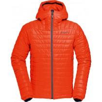 Norrøna Falketind Primaloft100 Hood Jacket (M) Hot Chili