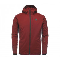 Black Diamond M First Light Hybrid Hoody Red Oxide