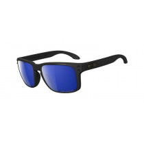 Oakley Holbrook Matte Black/ Ice Iridium Polarized