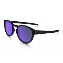 Oakley Latch Violet Iridium, Matte Black