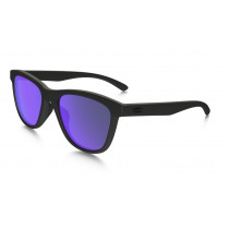 Oakley Moonlighter Violet Iridium Polarized, Matte Black