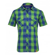 Ortovox Rock'n'wool Cool Shirt SS Stretch Back Men's Absolute Green