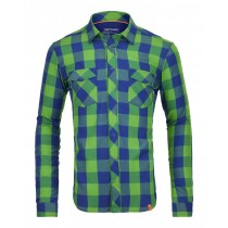 Ortovox Rock'n'wool Cool Shirt LS Stretch Back M - Absolute Green