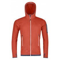 Ortovox Fleece Light Hoody High Men's Crazy Orange