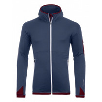 Ortovox Fleece Light Hoody M Night Blue