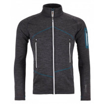 Ortovox Fleece Light Melange Jacket M Black Steel