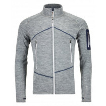 Ortovox Fleece Light Melange Jacket Men's Grey Blend