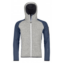 Ortovox Fleece Plus Classic Knit Hoody M Night Blue