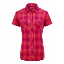 Ortovox Stretch Back Shirt S-Sleeve Women's Hot Coral