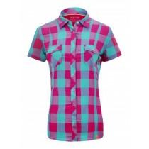 Ortovox Stretch Back Shirt S-Sleeve Women's Dark Very Berry